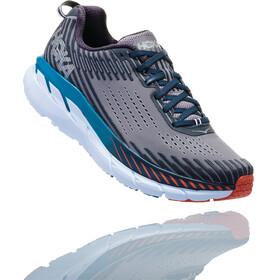 Hoka One One Clifton 5 Running Shoes Men grey